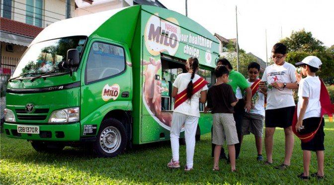 MILO truck van