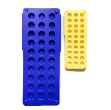 Clothes Folder Set Blue and Yellow with Holes