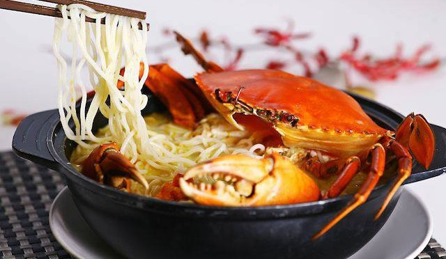 Claypot Crab Vermicelli Soup from Mellben Seafood