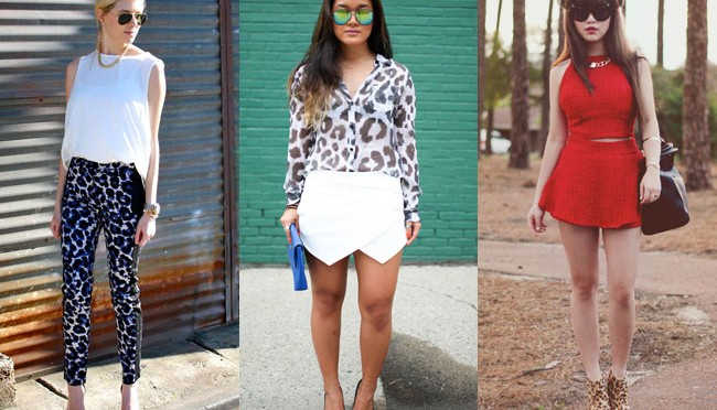 How to wear leopard prints