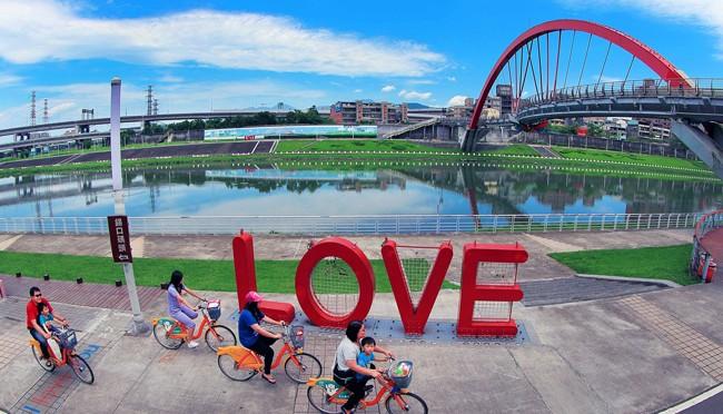 cycling in taipei