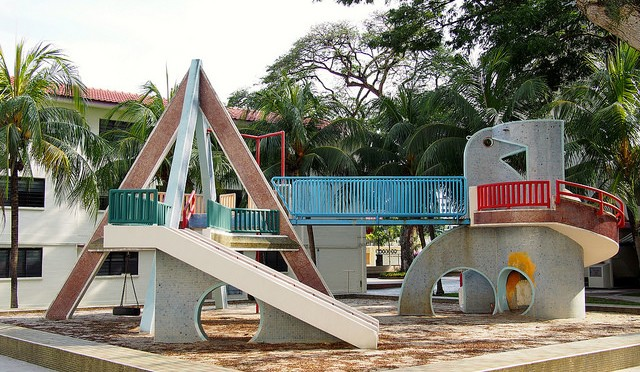 old school playground