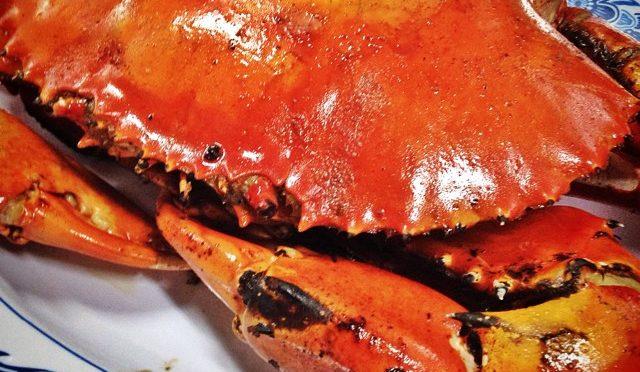 New Ubin Seafood Restaurant Salt-baked crab