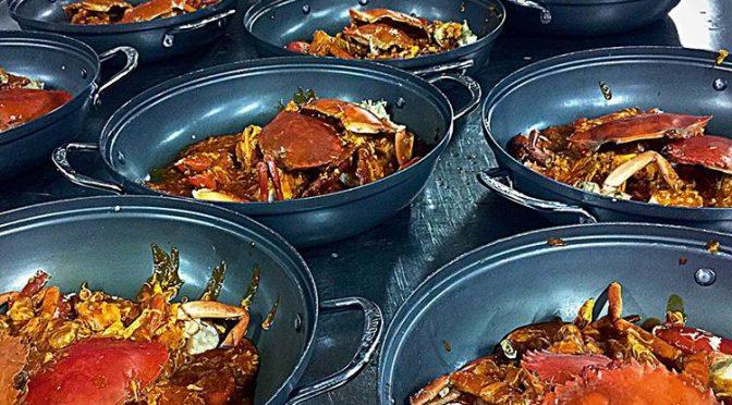 Roland Restaurant Original Chilli Crab