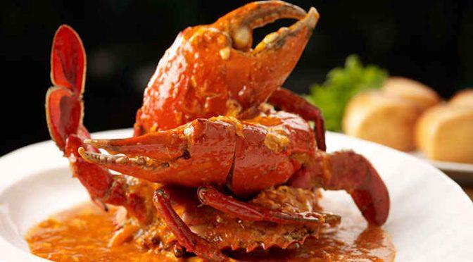 Ah Hoi's Kitchen Hotel Jen Sri Lankan Chilli Crab