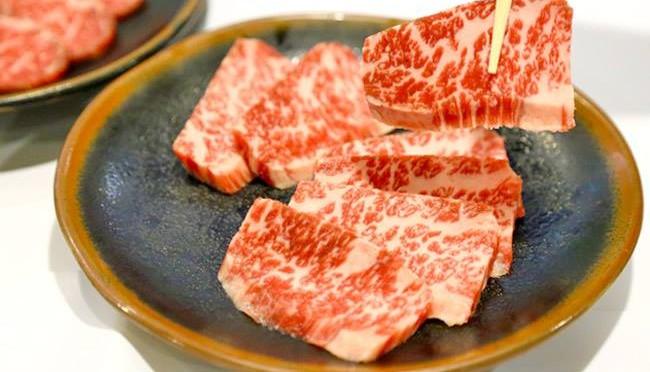 Waygu marbled beef