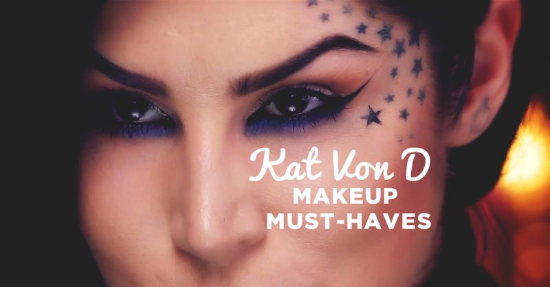 8 Must-Have Kat Von D Makeup Items From Sephora