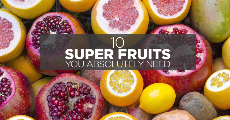 10 Super Fruits You Absolutely Need In Your Life Right Now Available At FairPrice Online