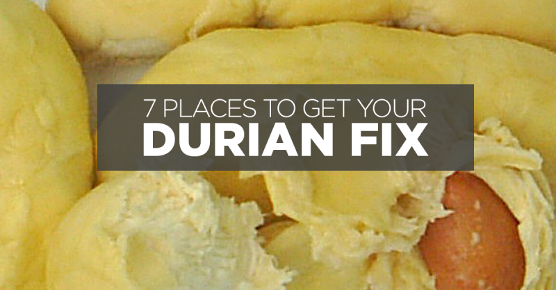 Durian Price Dip! 7 Places To Get Your Durian Fix In Singapore!